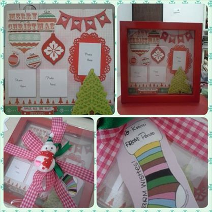 belongs to Naning 20x20cm christmas scrapbook