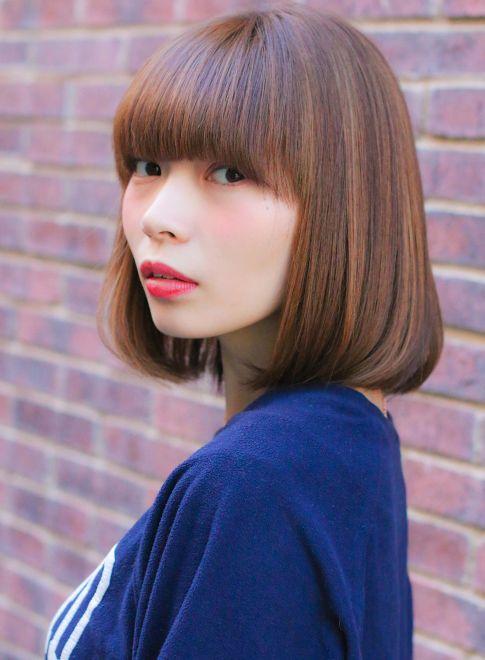 自慢のつやつやヘアスタイルを際立たせたいならボブカット☆参考にしたいアレンジ・髪型のアイデア♬