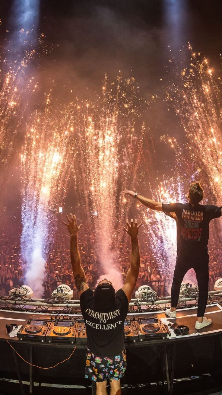 The Chainsmokers concert   Drew Taggart and Alex Pall