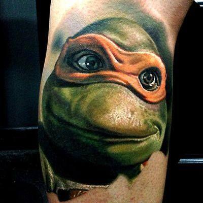 #ink Ninja Turtle | Nice tattoos | Pinterest | Ink ...