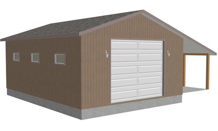 #G372 Bachini, 8002-15, 30' X 40' X 14', Detached Garage