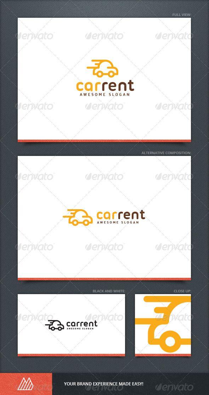 Car Rent Logo Template
