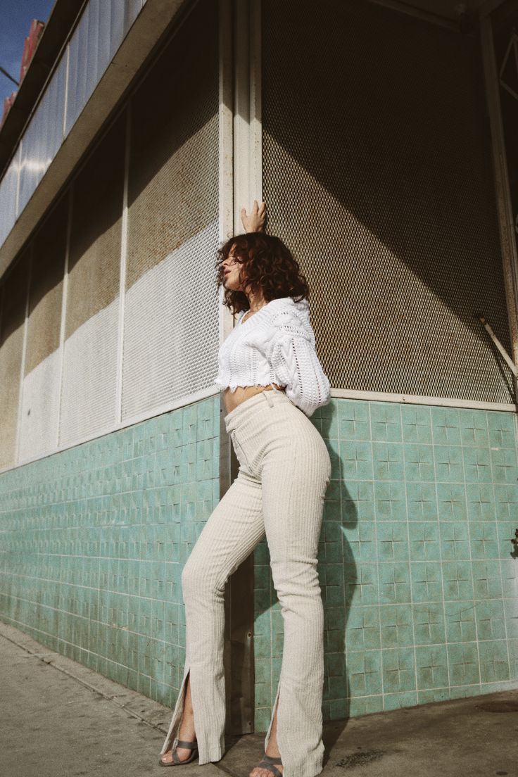 Karla Deras in The Corduroy Pant