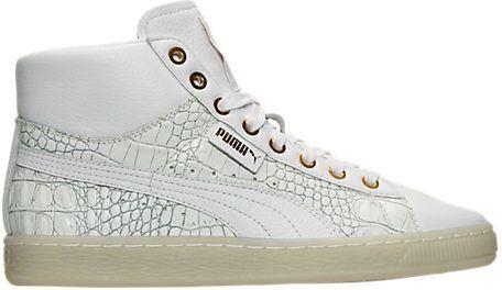 Puma Women's Basket Winter Mid Casual Shoes