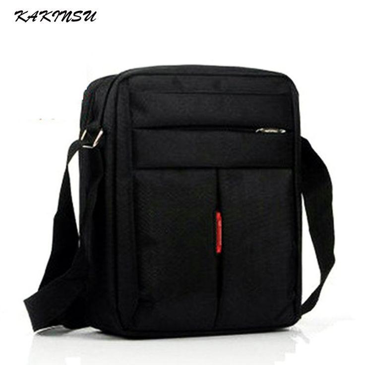 KAKINSU Male bags Waterproof Nylon Oxford Cloth Travel bag Fashion Business Men shoulder bags Casual Messenger Bag for Men