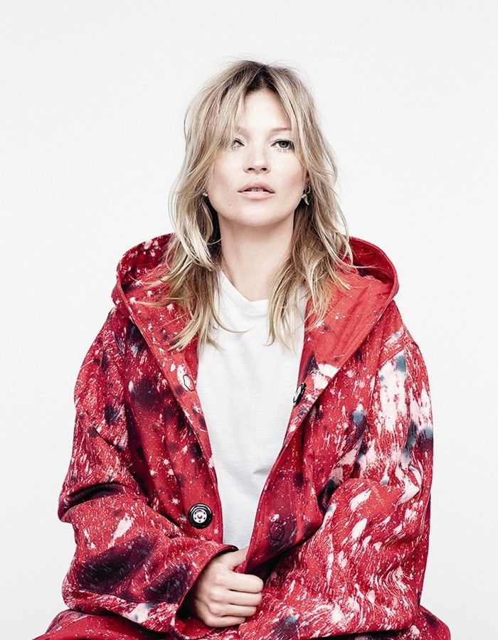 Kate Moss in Raf Simons/Sterling Ruby for AnOther Magazine A/W14 Photography by Willy Vanderperre, Styling by Olivier Rizzo