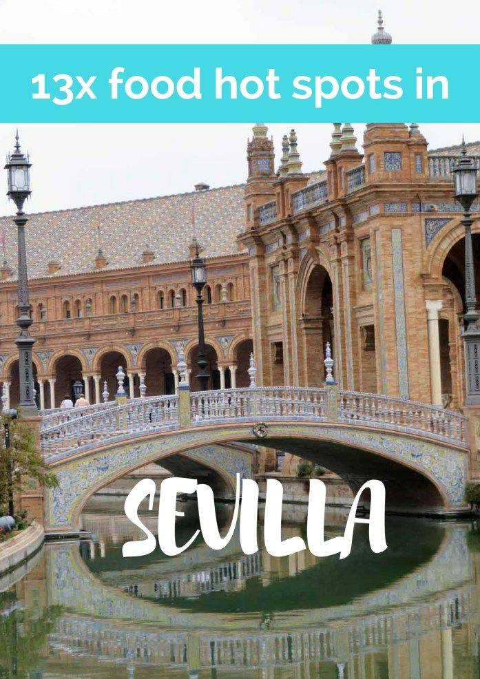 Leuk voor tijdens je roadtrip Andalusië: 13x food hot spots in Sevilla, Spanje.