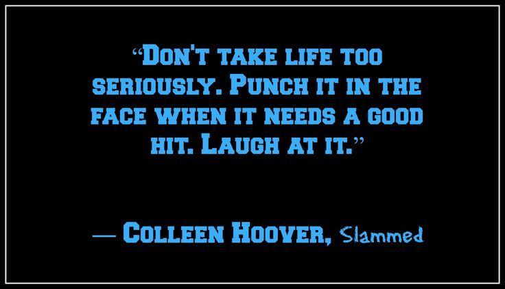 Slammed by Colleen Hoover quotes