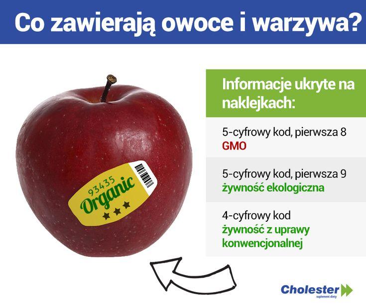 Etykiety warzyw i owców - co znaczą?  #jedzenie #zdrowie #gmo #etykiety #kody
