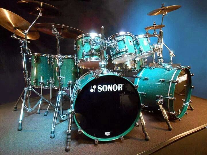 Steve Smith's Journey, 1997 Sonor Designer, 8 Piece Drum Set, Authenticated