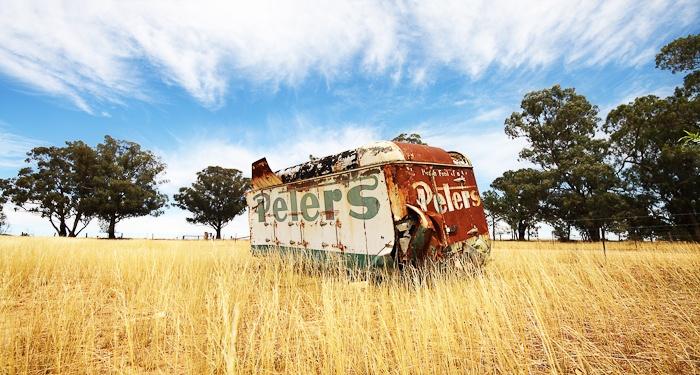 Forgotten Ice Cream  Country NSW Australia