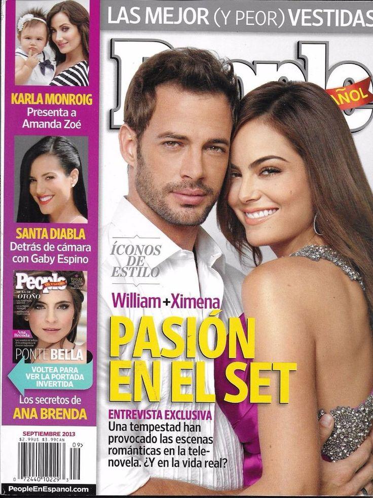 People magazine William Levy Ximena Navarrete Ana Brenda Santa Diabla