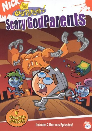 The Fairly Oddparents: Scary Godparents [DVD]