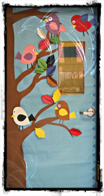 puertas decoradas de bienvenida para preescolar - Buscar con Google
