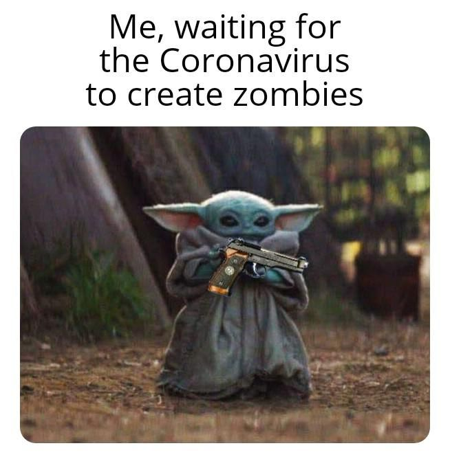 Pew Pew Pew R Babyyoda Baby Yoda Know Your Meme Yoda Funny Yoda Meme Funny Memes