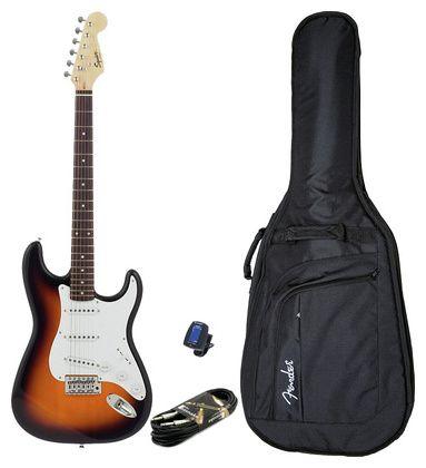 Fender Squier Bullet Strat RW SB Set #Thomann