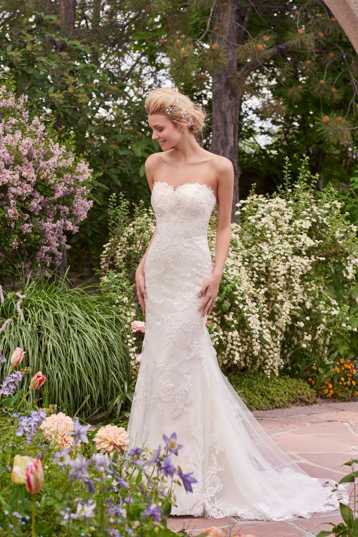 170 best classic brides images on pinterest wedding dressses rebecca ingram in stock wedding dresses style sandra ombrellifo Choice Image