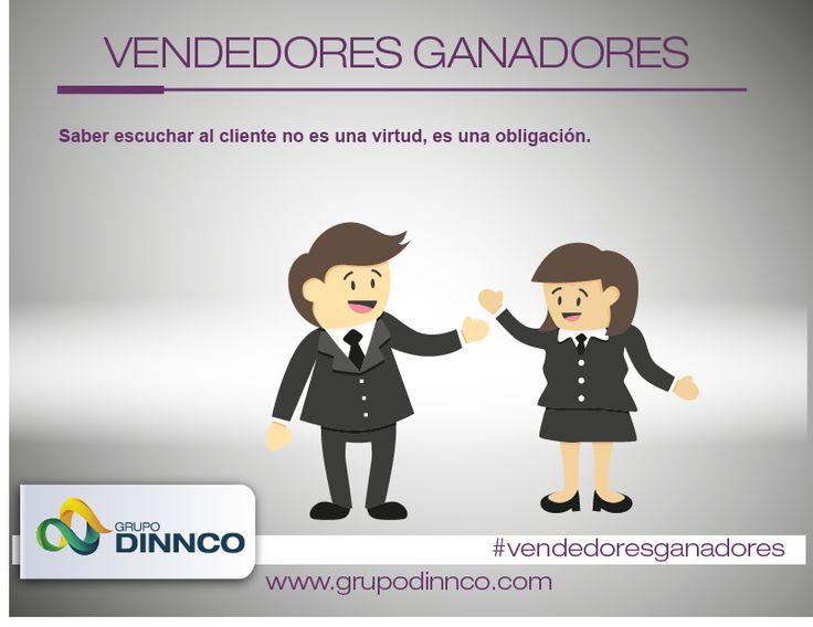 Vendedores Ganadores: Saber escuchar al cliente no es una virtud, es una obligación. #vendedoresganadores