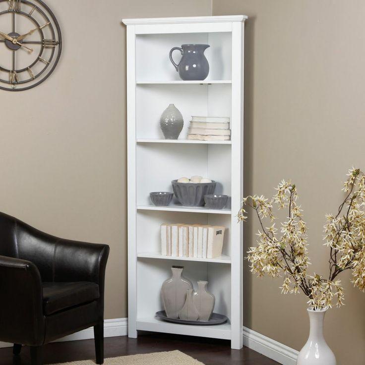 Living Room Corner Display Book Shelf Case Curio Cabinet Storage Rack  Furniture~