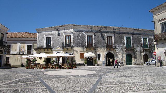 Gerace.Piazza Del Tocco
