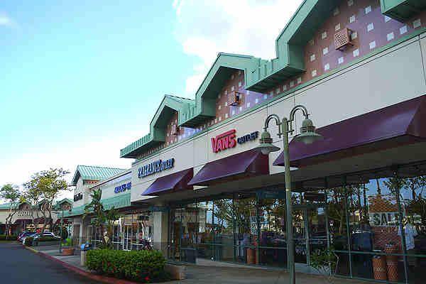 Waikele Center and Waikele Premium Outlets - Oahu, Hawaii