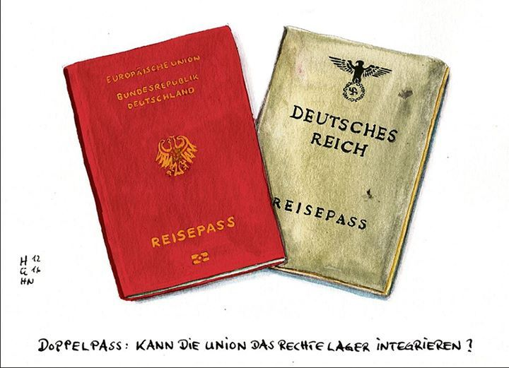 """""""Doppelte Staatsbürgerschaft"""" für Reichsbürger 😀 taz. die tageszeitung Guten Morgen! ShareArtikel als PDF herunterladen"""