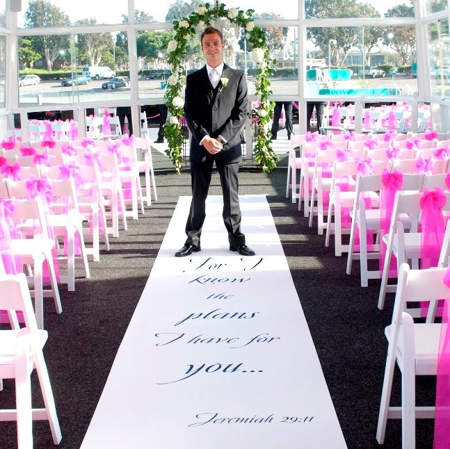 """Wedding Aisle Music Ideas: """"For I Know The Plans I Have For You..."""" Jeremiah 29:11"""