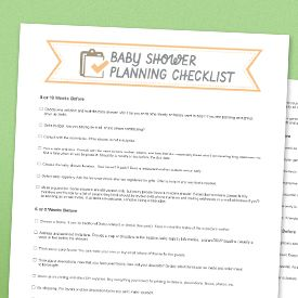 Love this idea give everyone a candle at baby shower to for Baby shower decoration checklist