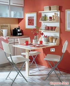 24 best decoraci n del hogar images on pinterest - Decoracion de cocinas pequenas ...