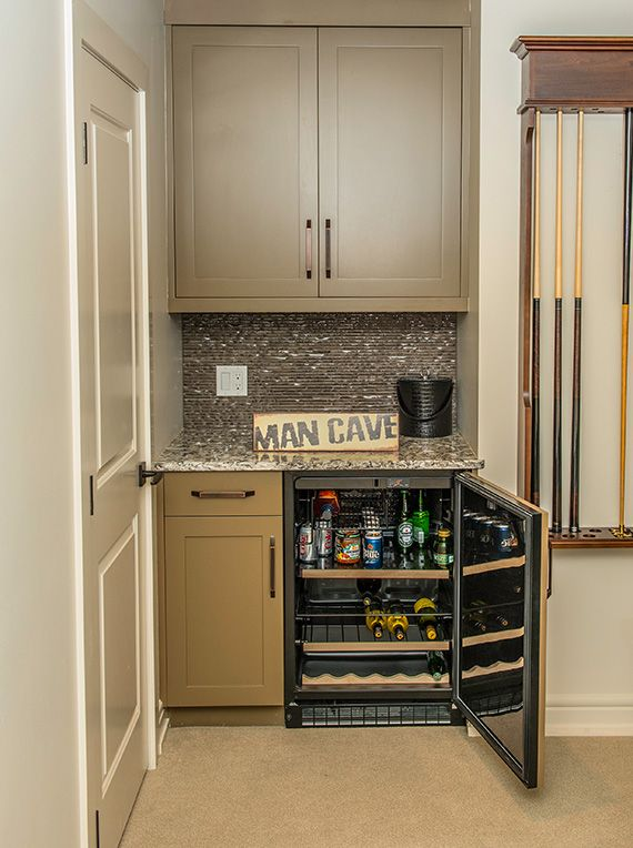 lynn donaldson associates man cave basement bar dry bar mini fridge mancave. Black Bedroom Furniture Sets. Home Design Ideas