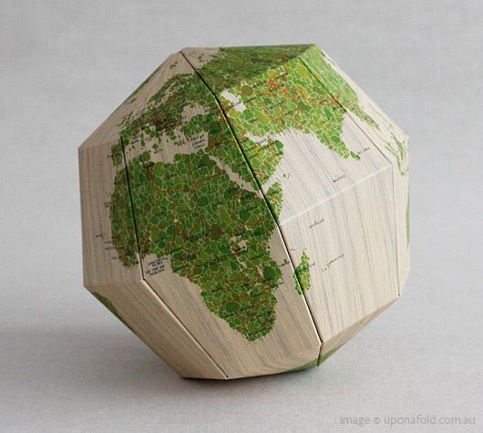 paper globe: Maps Globs, Big Things, Folding Paper, Cartography, Awesome Globes, Asectionalpaperglob Pictures, Paper Globes, Maps Art, Maps Mad