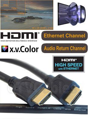 #TVCables 10m Hdmi #Cable High #Speed with #Ethernet for HDMI #10m HDMI #Cable High #Speed with #ethernet #channel and #audio #return #channel. #Supports all HDMI 1.4 and HDMI 2.0 #equipment functions.