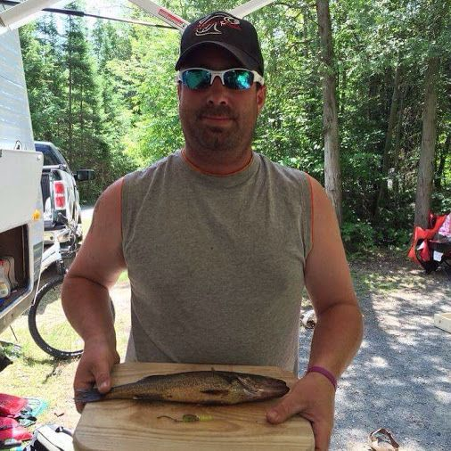 Last weekend he purchased Skippers Tackle Fishing lures now this weekend he is…