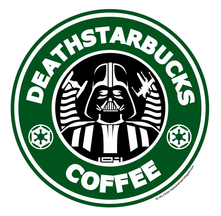 Used this image in one of my Pyrography projects. Death Starbucks with coffee so strong it can destroy planets