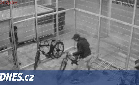 VIDEO: Zloděje kol nezastavily zámky, kamery ani železná klec