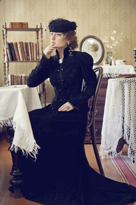 Аристократический, черный цвет всегда в моде.