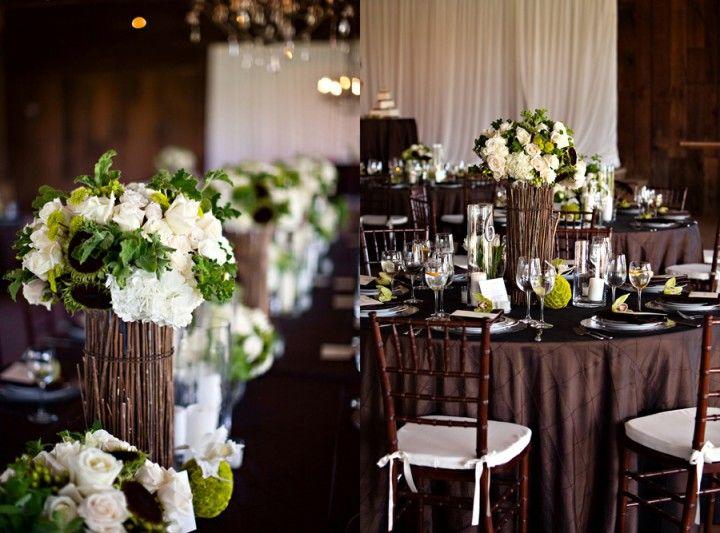 Rustic Vineyard Wedding Santa Ynez Wine Country, Firestone Winery Crossroads Estate, Duet Weddings, Leigh Miller Photography, white green and brown wedding inspiration