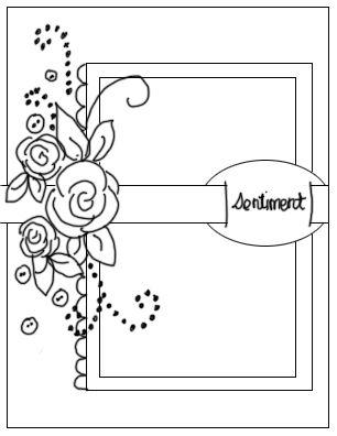 Картинки картинки, скетч для открыток скрапбукинга с примерами