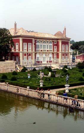 Lisbonne - Fronteira (Portugal) Jardins et Palais des Marquis de Fronteira