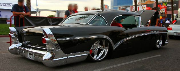 """This custom 1957 Buick Special was exhibited by Steele Rubber Products at SEMA back in 2012. It was build by """"The Choppin' Block"""" (Fresno, California) and designed by Daniel Reyna."""