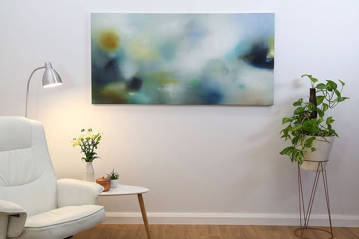 "Title: ""Were currently in Maleny and its raining outside."" Size: 76 x 152cm  Medium: Oil on Linen  Now on show at @art.piece.gallery  See more of my available paintings at http://ift.tt/1VMj6IF"