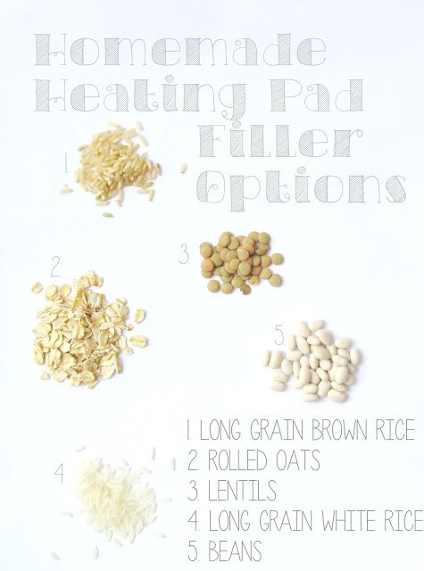 1000 Ideas About Diy Heating Pad On Pinterest Rice