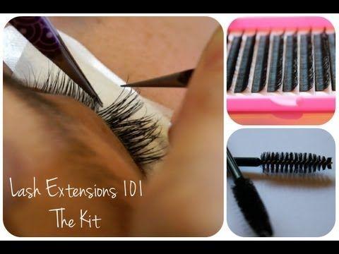 ▶ Eyelash Extensions 101 - The Kit - YouTube