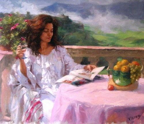 Spanish painter Vicente Romero Redondo.  13