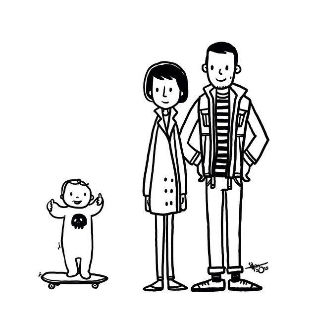 punkrock's family by Ihsan KL www.gambarihsan.tumblr.com