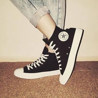 just added these to my collection ❤ #chucktaylor #chuckII #converse #covetme