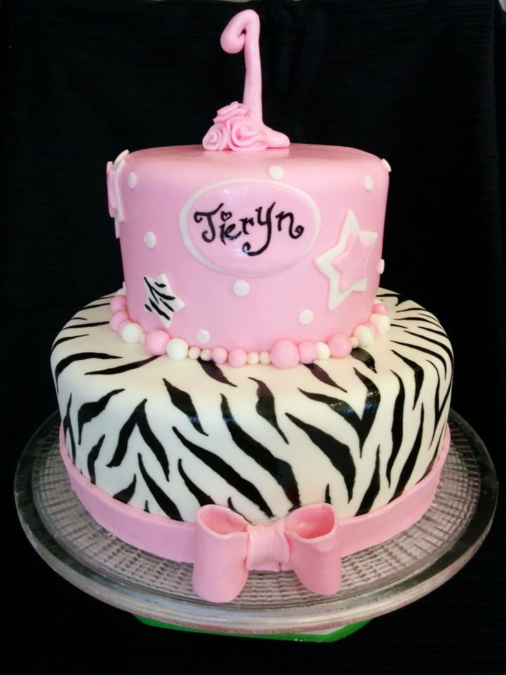 Zebra Cakes Birthday