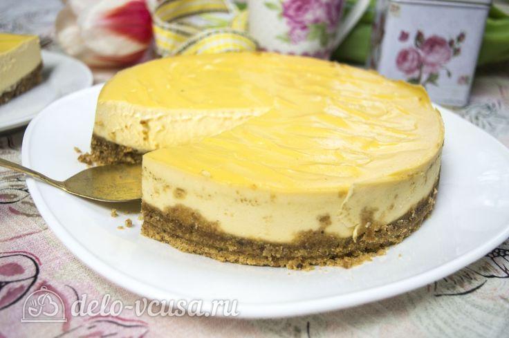 Домашний чизкейк #чизкейк #десерты #рецепты #деловкуса #готовимсделовкуса