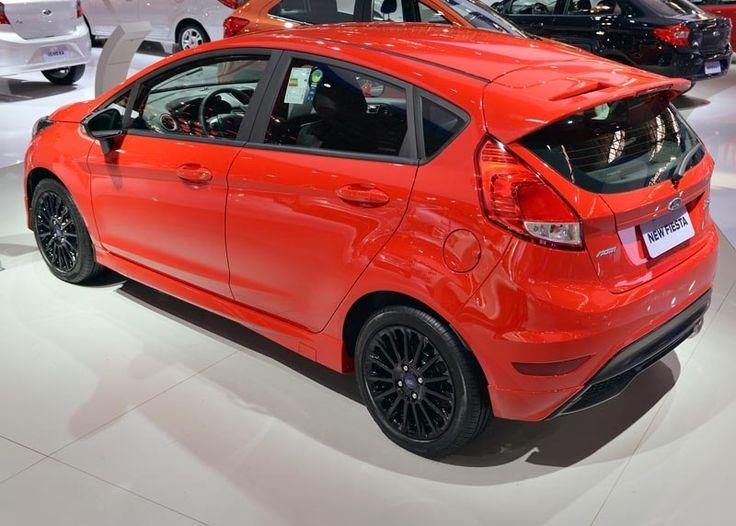 SP: Ford exibe New Fiesta Sport no Salão