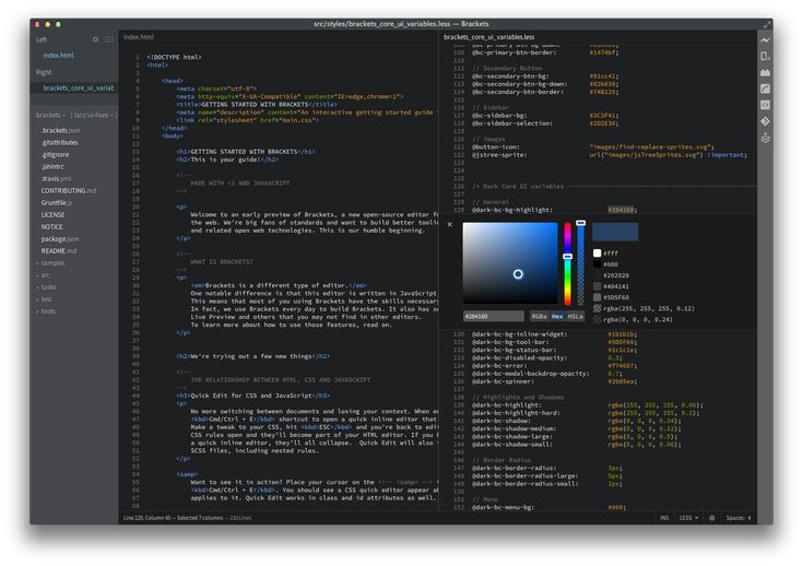Adobe has released version 1.0 of Brackets, its free open-source text editor that's built in HTML, CSS and JavaScript, for coding HTML, CSS and JavaScript.